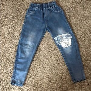 Girls jegging sz 7